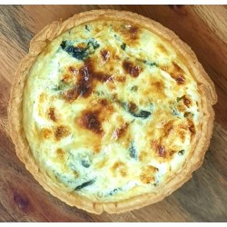 Swiss Spinach Quiche