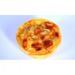 Mini Quiche with Smoked Beef