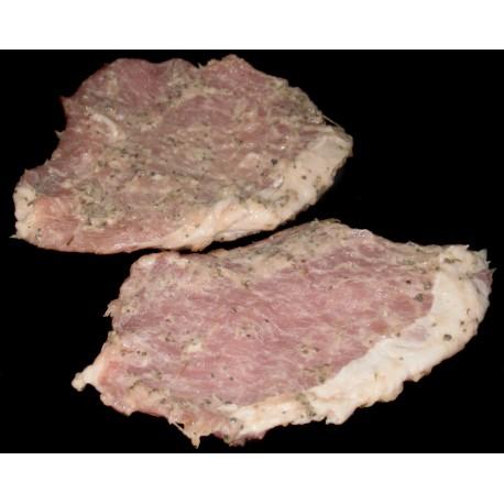 Pork Steak Basil & Pepper