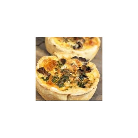 Mini Quiche with Mushroom
